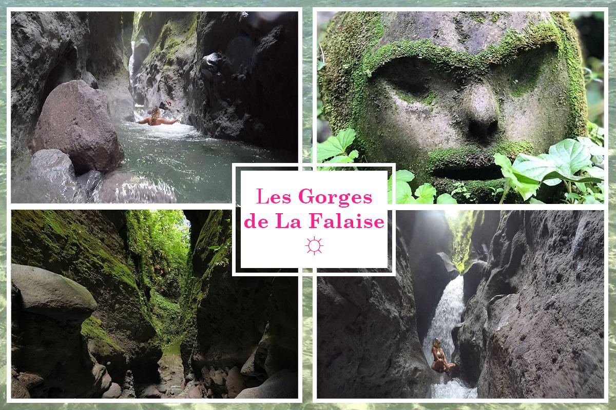 Gorges de la falaise Martinique randonnée
