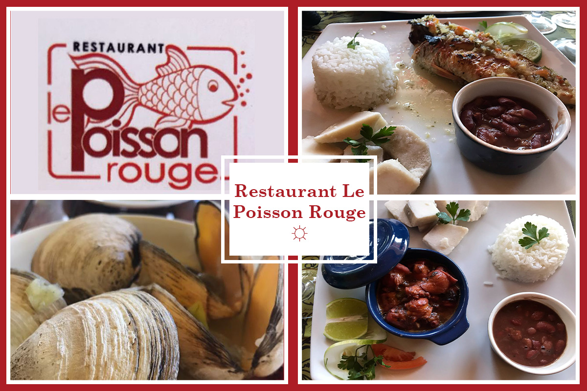 Restaurant le Poisson Rouge Martinique