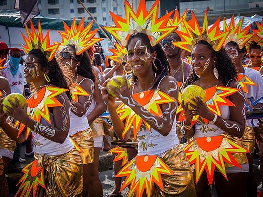 Carnaval lundi gras à Fort-de-France