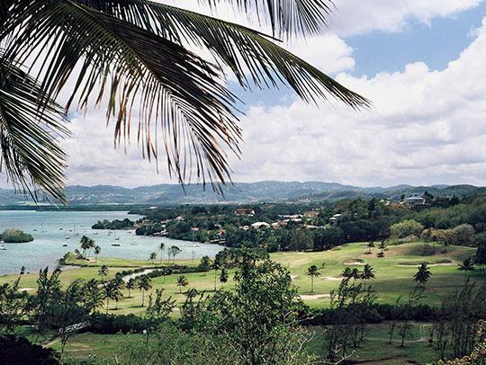 Golf course Empress Josephine in Trois-Ilets