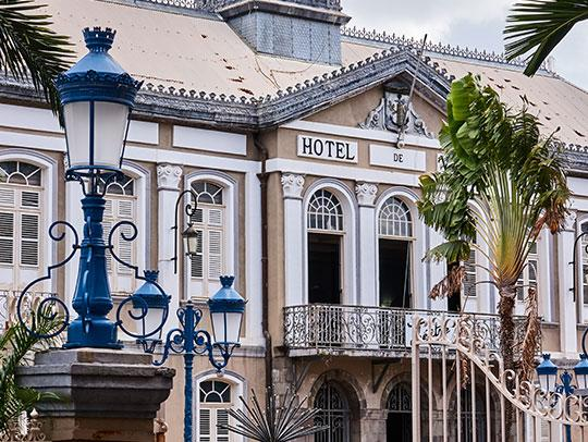 Hotel de ville à Fort-de-France